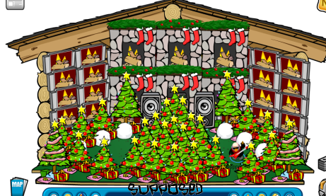 Image result for awesome club penguin christmas igloos