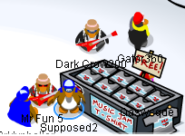 how to get backstage in club penguin